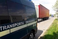 Majówka ciężarówki na zakazach jazdy 1