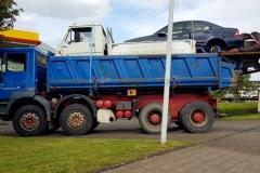 Niemcy - furgonetka na wywrotce 2