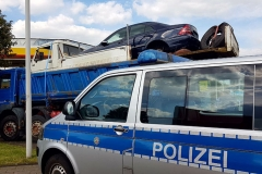 Niemcy - furgonetka na wywrotce 3