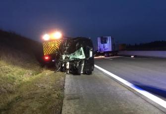 """Niemcy – """"kabina odpadła na jezdnię"""" - makabryczny wypadek z udziałem kierowcy z Polski. Możemy mówić o cudzie 2"""