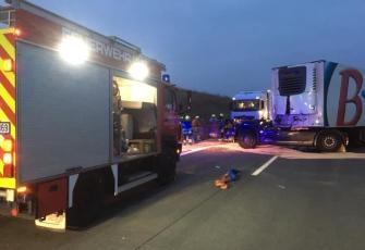 """Niemcy – """"kabina odpadła na jezdnię"""" - makabryczny wypadek z udziałem kierowcy z Polski. Możemy mówić o cudzie 3"""