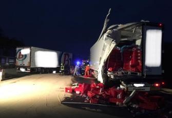 """Niemcy – """"kabina odpadła na jezdnię"""" - makabryczny wypadek z udziałem kierowcy z Polski. Możemy mówić o cudzie 1"""