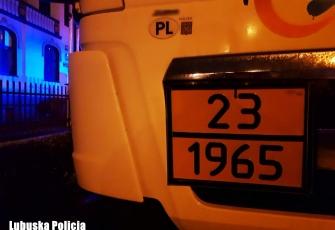 Pijany kierowca cysterny z gazem miał problem by wyjść z kabiny - miał ponad 3 promile alkoholu we krwi 3