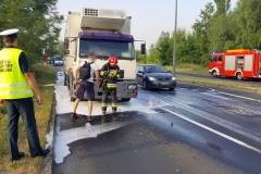 ITD pomogło przy płonącej ciężarówce 5