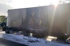 ITD pomogło przy płonącej ciężarówce 7