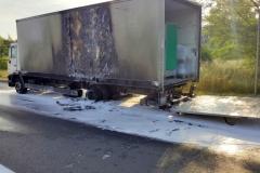 ITD pomogło przy płonącej ciężarówce 8