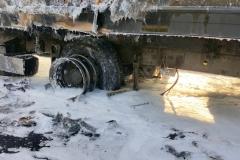 ITD pomogło przy płonącej ciężarówce 9