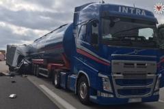 Śmiertelny wypadek kierowcy pojazdu dostawczego z Polski