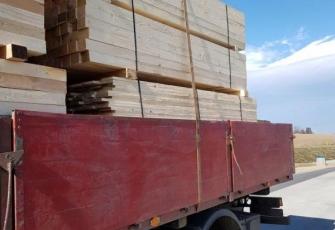 WITD – 15 t ładunek zabezpieczony dwoma pasami i dramatyczny stan techniczny ciężarówki kierowcy przedsiębiorcy 1