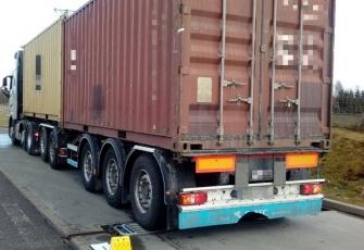WITD – pojazd ciężarowy przeładowany o blisko 21 ton 3