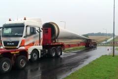 Transport wiatraków bez zezwoleń 1