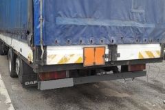 WITD – transport materiałów żrących bez zabezpieczenia i z pękniętą oponą 2