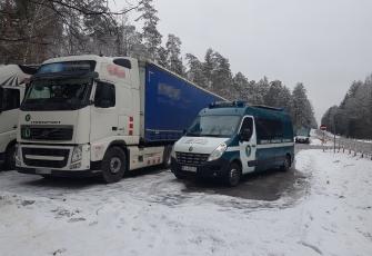 WITD – woreczki z marihuaną w kabinie litewskiej ciężarówki – kierowcy grożą 3 lata więzienia 1