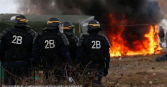 Calais Policja