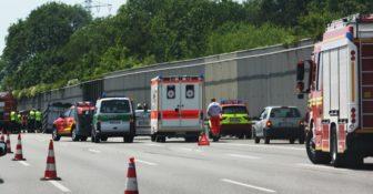 Wypadki niemcy ciężarówki