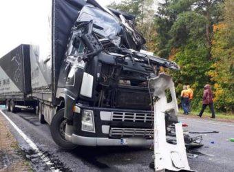 wypadek polskiego kierowcy na Białorusi