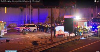 Holandia Polski kierowca jechał pod prąd. Zginęły dwie osoby