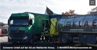 Niemcy Wypadek z udziałem polskiej ciężarówki