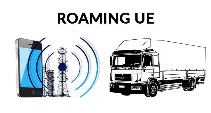 Roaming UE Transport