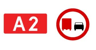 Zakaz dla ciężarówek na A2