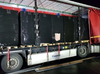 Niemcy: Przemyt Papierosy A2 Polski kierowca