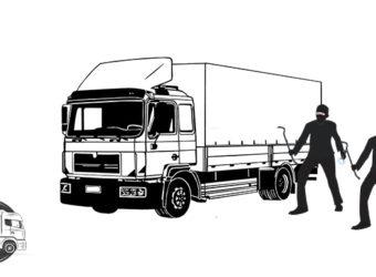 Transport kradzież ładunku Niemcy