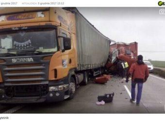Wypadek na A4