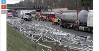 smiertelny wypadek A3 Niemcy
