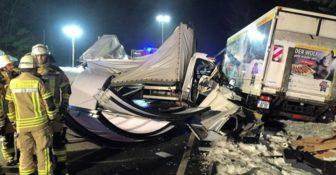 Śmiertelny wypadek Polskiego kierowcy busa