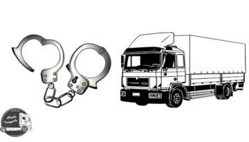 Polski kierowca ciężarówk izbiegł z miejsca wypadku
