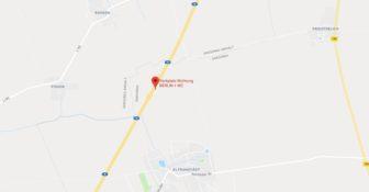 Razpruwacze plandek Niemcy Mapa