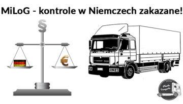 MiLoG Niemcy Kontrole Zakazane