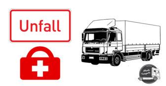 Wypadek A6 polska ciężarówka zatrzymała się