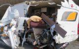 Polska ciężarówka najechała na tył kampera