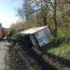 Niemcy przewrócona ciężarówka polskiego kierowcy