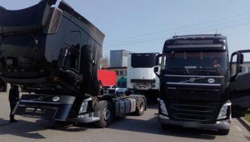 Nowe rosyjskie ciężarówki z urządzeniem do manipulacji czasu pracy
