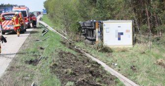 Wypadek a4 Niemcy polski kierowca
