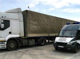 Majówka pijany kierowca ciężarówki