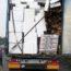 Niemcy - Polska ciężarówka - źle zabezpieczony ładunek