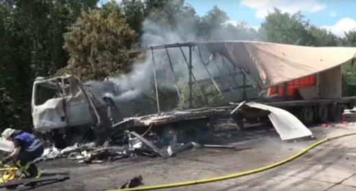 Wypadek polski kierowca niewinny