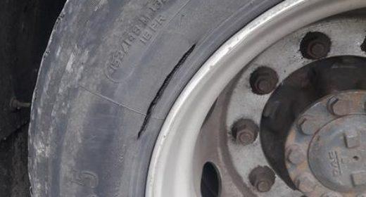 WITD – transport materiałów żrących bez zabezpieczenia i z pękniętą oponą