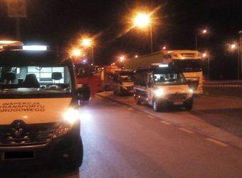WITD w Kielcach przedstawia wyniki nocnej akcji kontrolnej