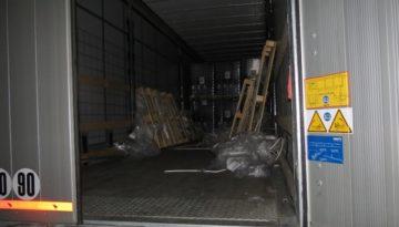 Niemcy – na parkingu przy A2 z naczepy z Polski ukradziono 50 telewizorów o wartości 72 tys euro 1
