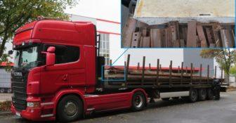Niemcy – zatrzymano ciężarówkę z Polski przy hamowaniu tory mogły przedostać się do kabiny kierowcy 1