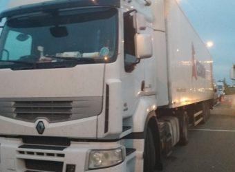 WITD - Kierowca bez szkolenia okresowego prowadził kradzioną ciężarówkę