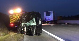 """Niemcy – """"kabina odpadła na jezdnię"""" - makabryczny wypadek z udziałem kierowcy z Polski. Możemy mówić o cudzie"""