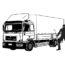 Niemcy – bezczelna kradzież przednich reflektorów, w czasie gdy kierowca z Polski spał w kabinie