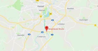Most Bergshäuser autostrada A44 ciężarówki zakaz blokada