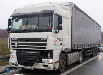 ITD – inspektorzy uratowali kierowcę ciężarówki, któremu groził wylew lub udar i zapobiegli tragedii na S8 f