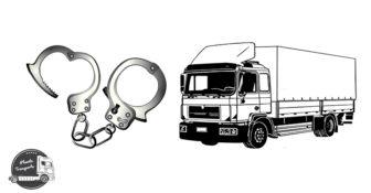 Legitymowany kierowca ciężarówki podał dane osobowe kolegi. Ciążył na nim zakaz prowadzenia pojazdów. Teraz grozi mu 5 lat więzienia